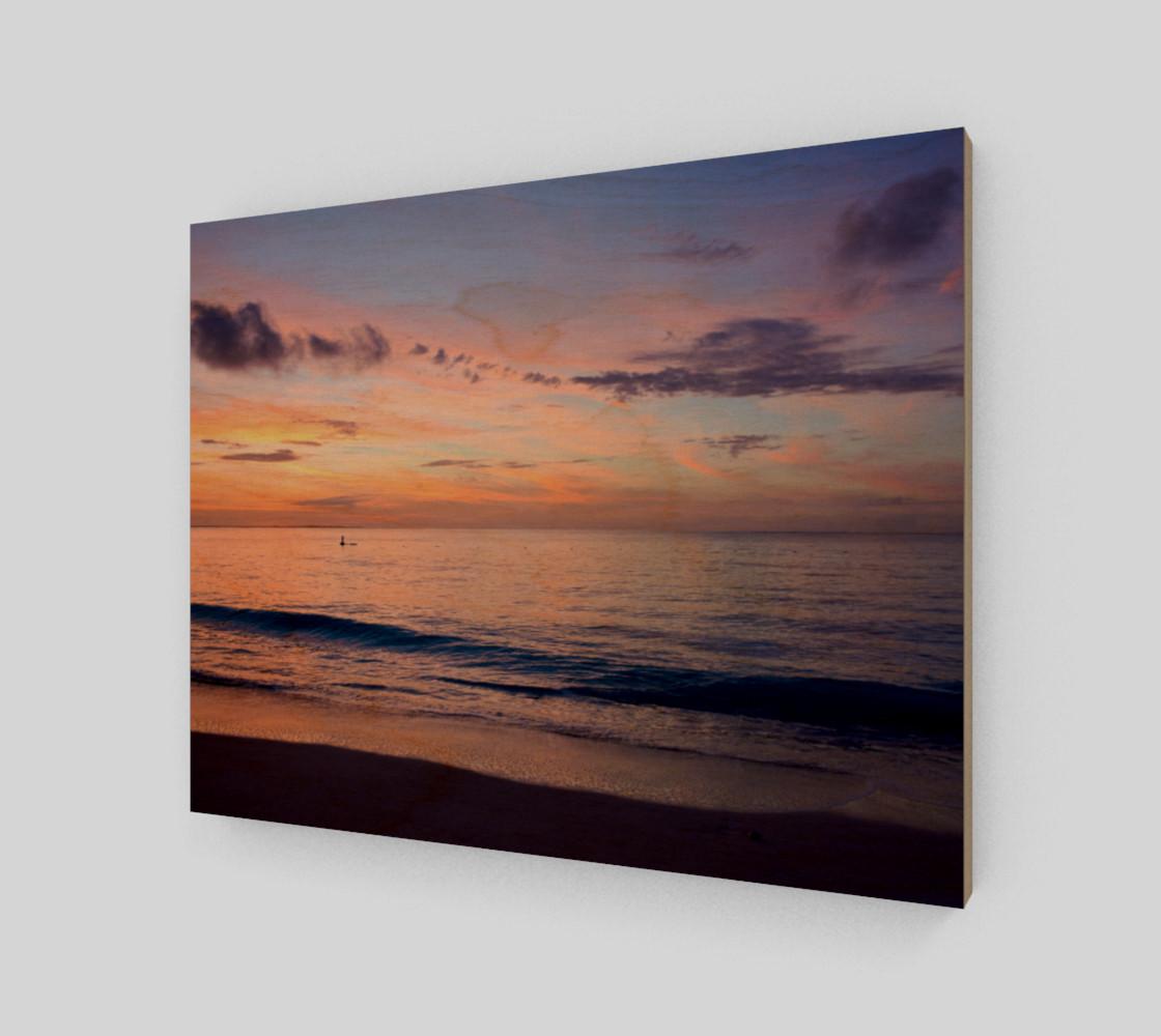 Grace Bay Sunset Wall Art preview #1