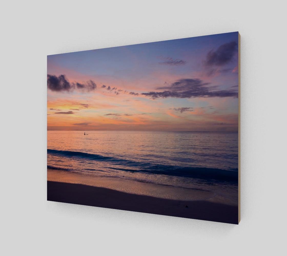 Grace Bay Sunset Wall Art preview #2