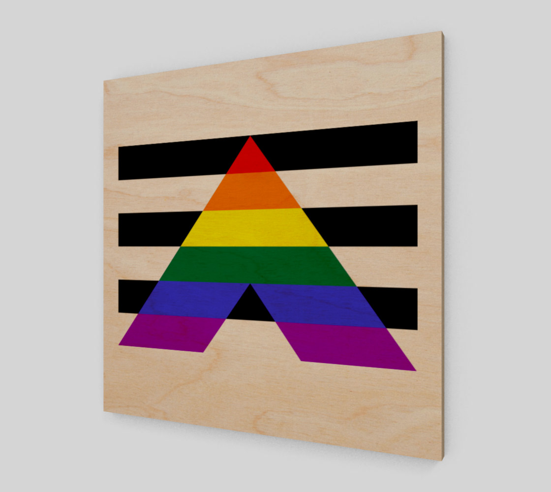 Ally LGBT Wall Art preview #1