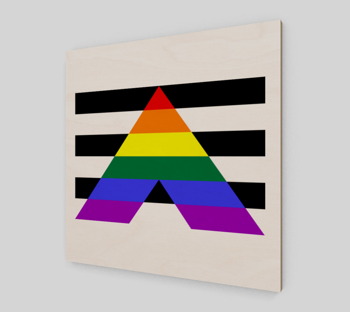Ally LGBT Wall Art preview #2