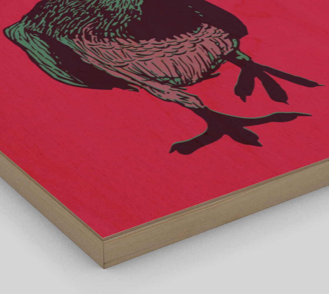 """16""""x20"""" Poster - Curious Pigeon in Bright preview #3"""