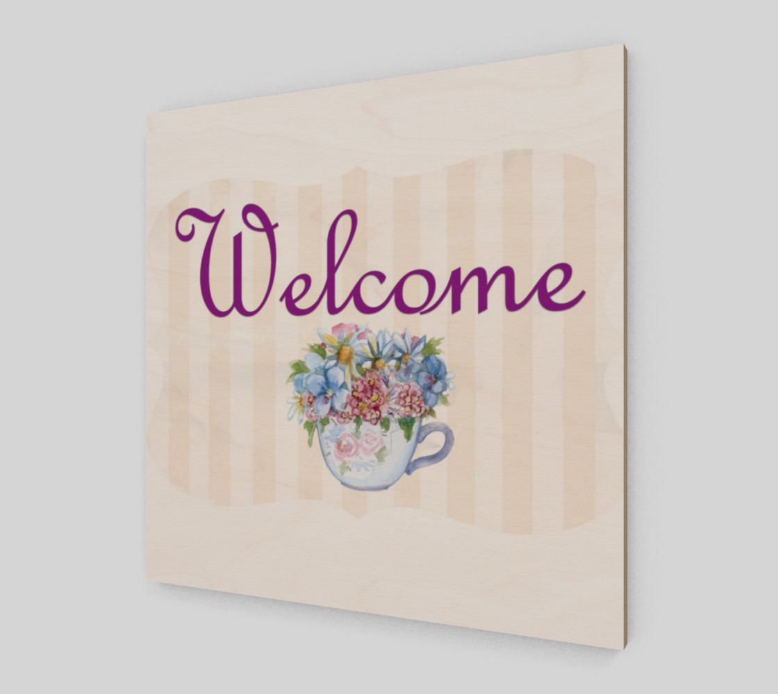 Welcome Wall Art preview #2