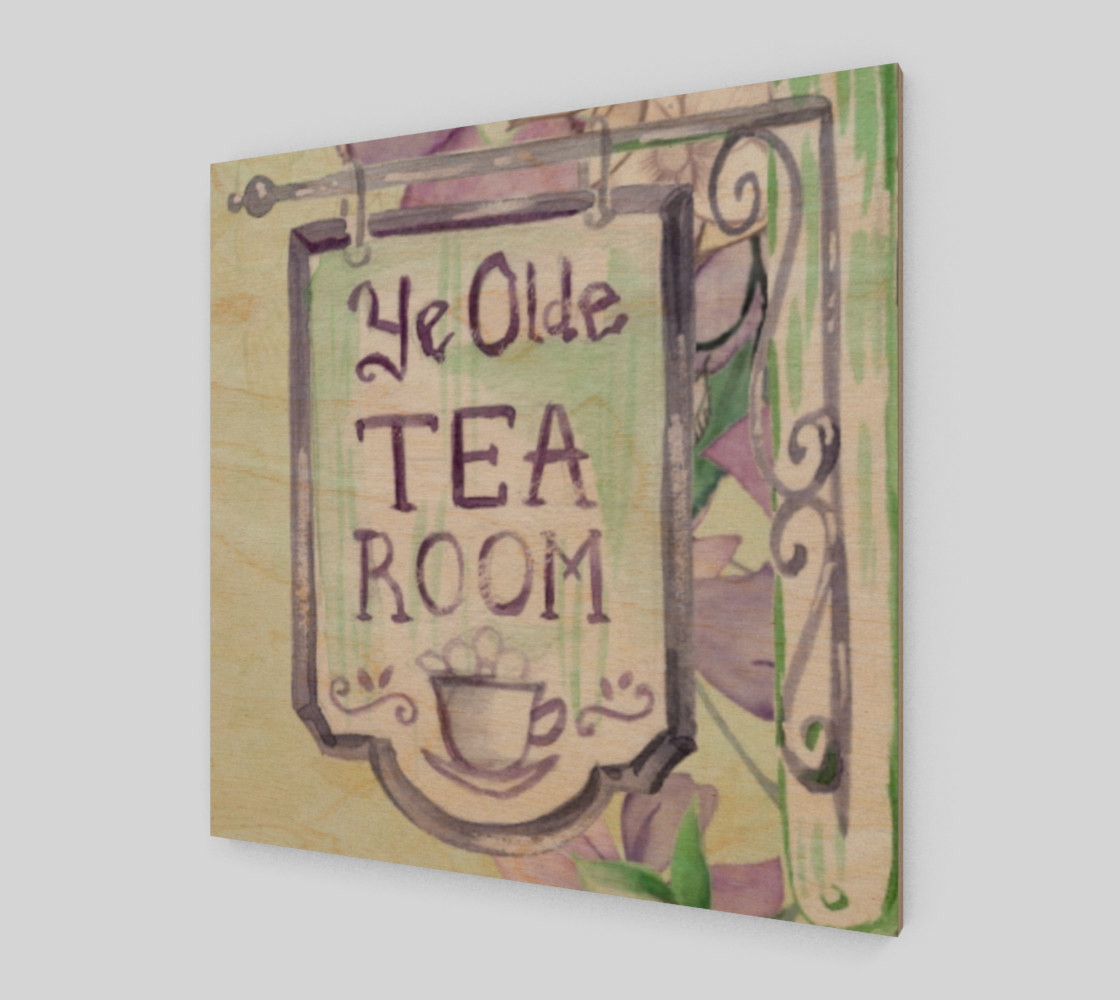Ye Olde Tea Room Wall Art preview #1