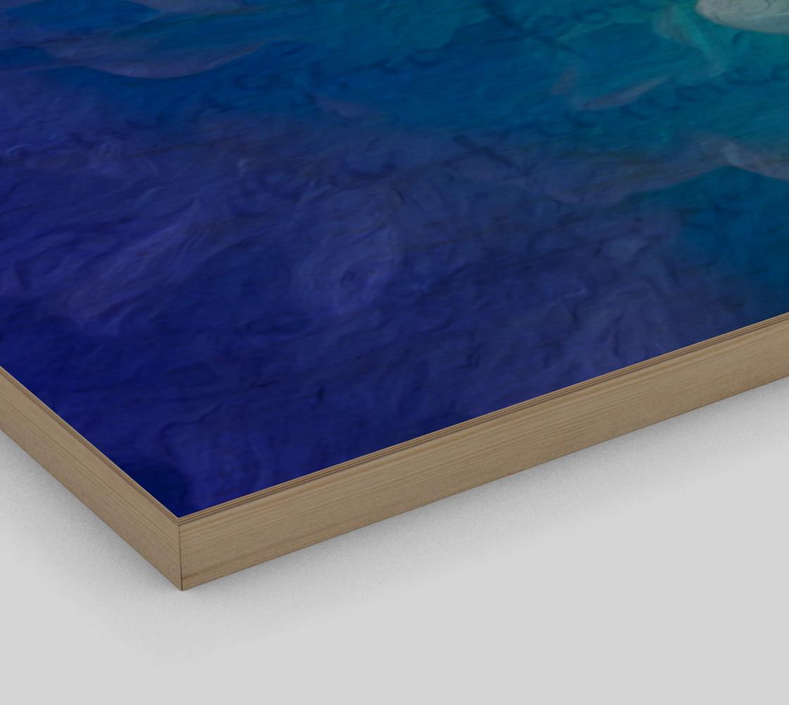 Blue I So Hope Poster Print Landscape preview #3