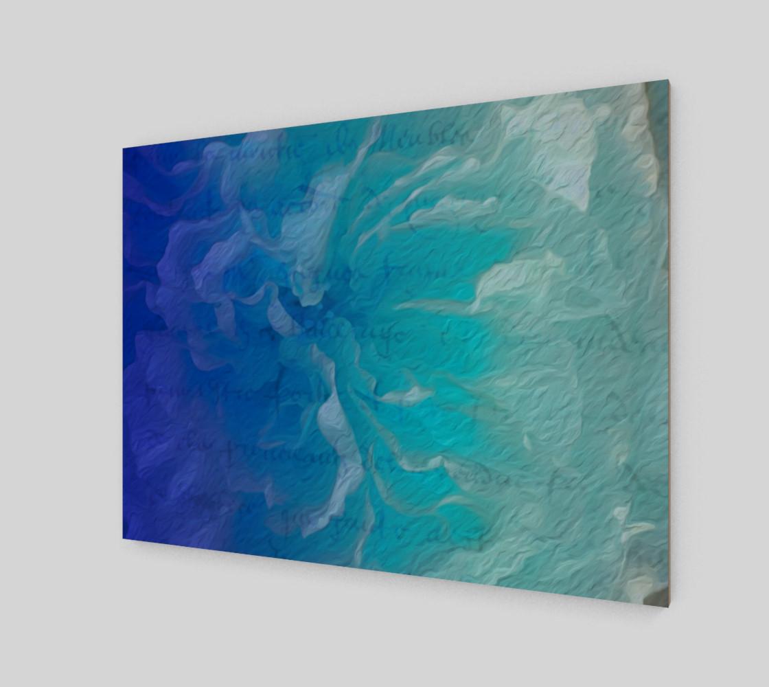 Blue I So Hope Poster Print Landscape preview #2