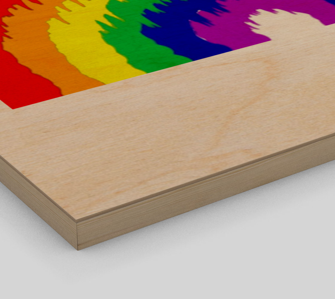 Dripping Rainbow Wall Art preview #3