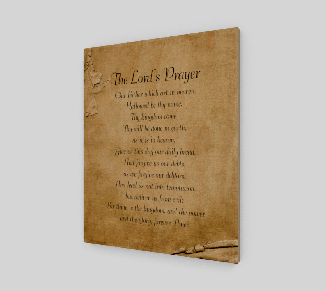 The Lord's Prayer 16x20 preview #1