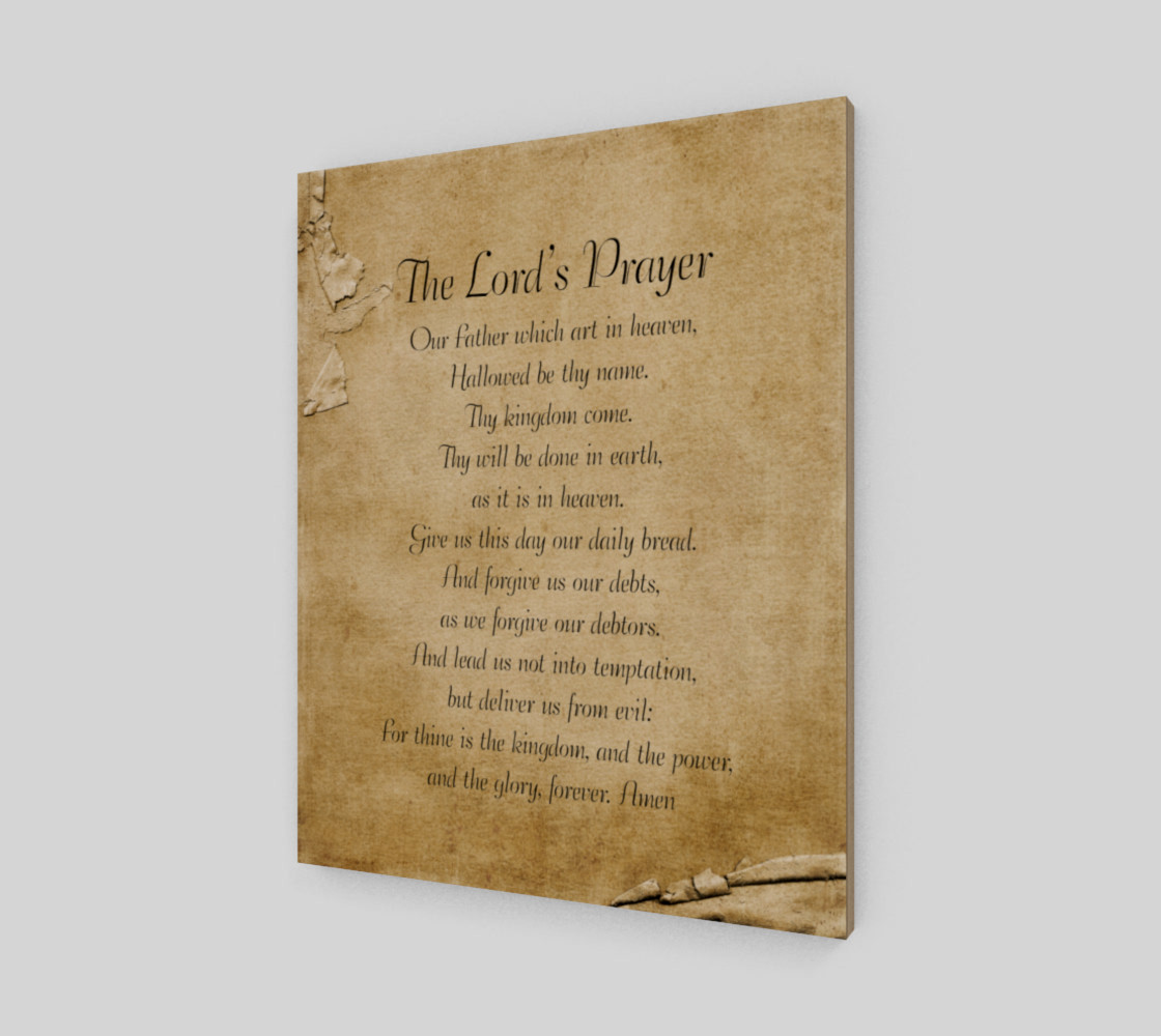 The Lord's Prayer 16x20 preview #2