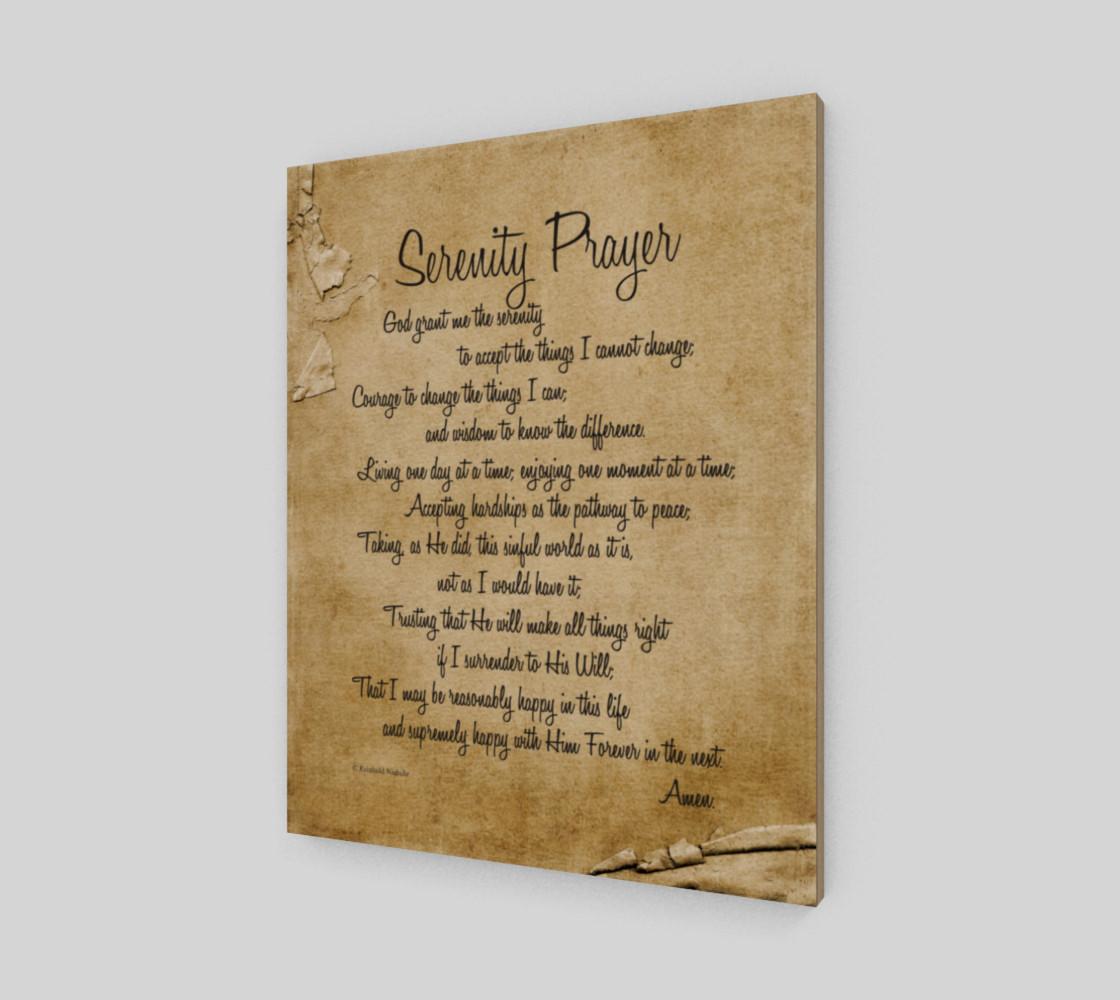 the full Serenity Prayer - 16x20 preview #2