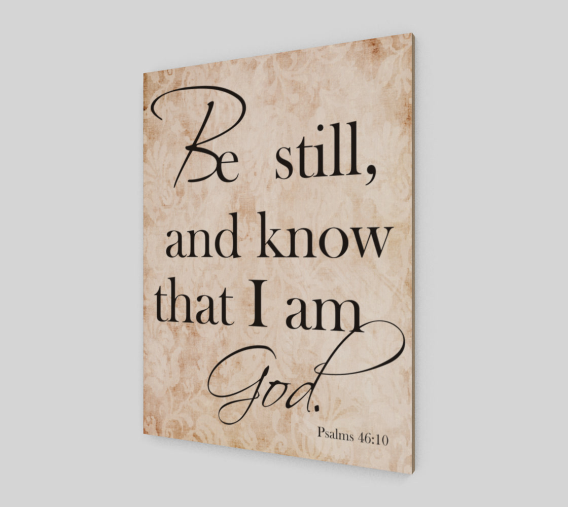 Be still and know that I am God preview #2
