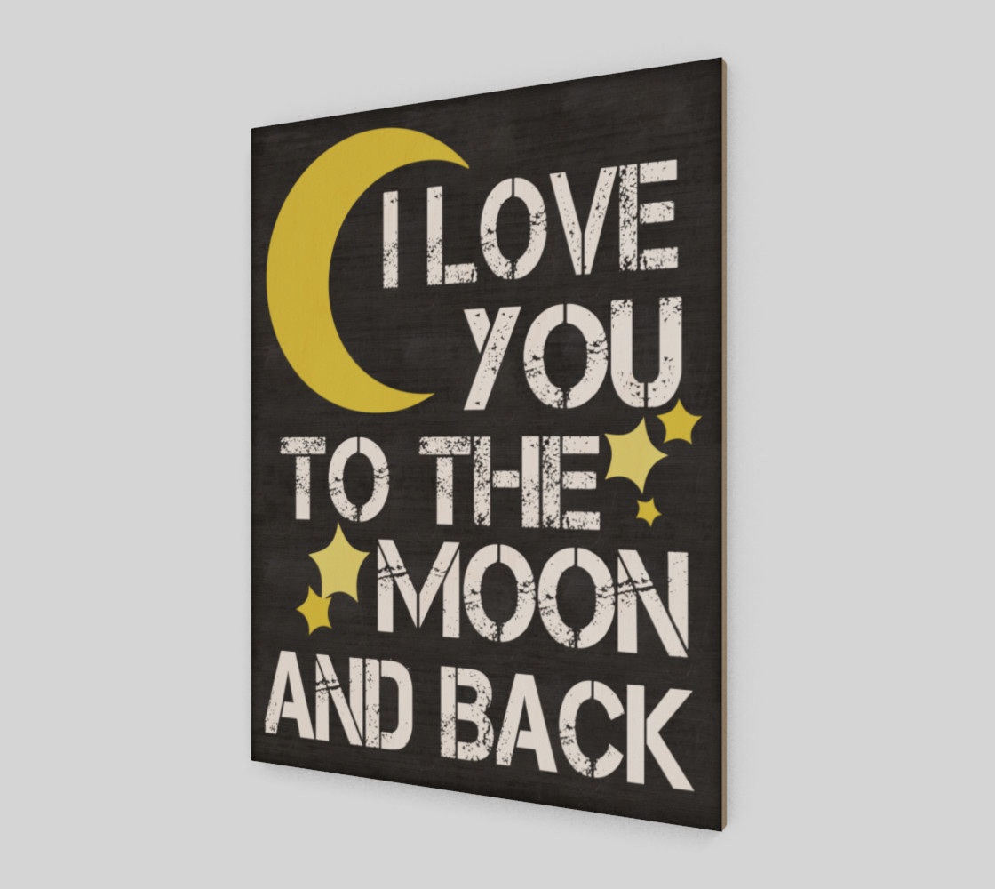 I love you to the moon and back preview #2