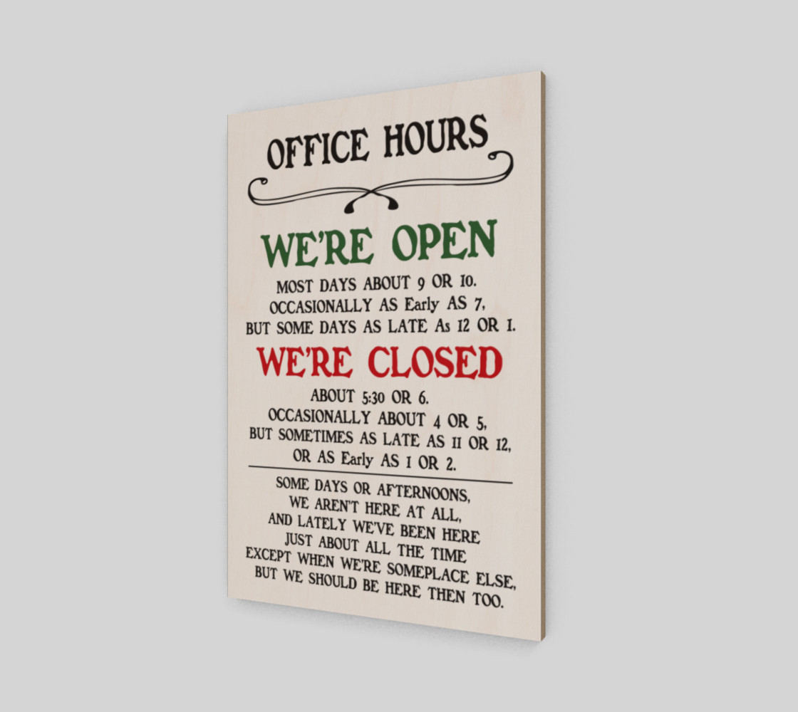 Office Hours preview #2