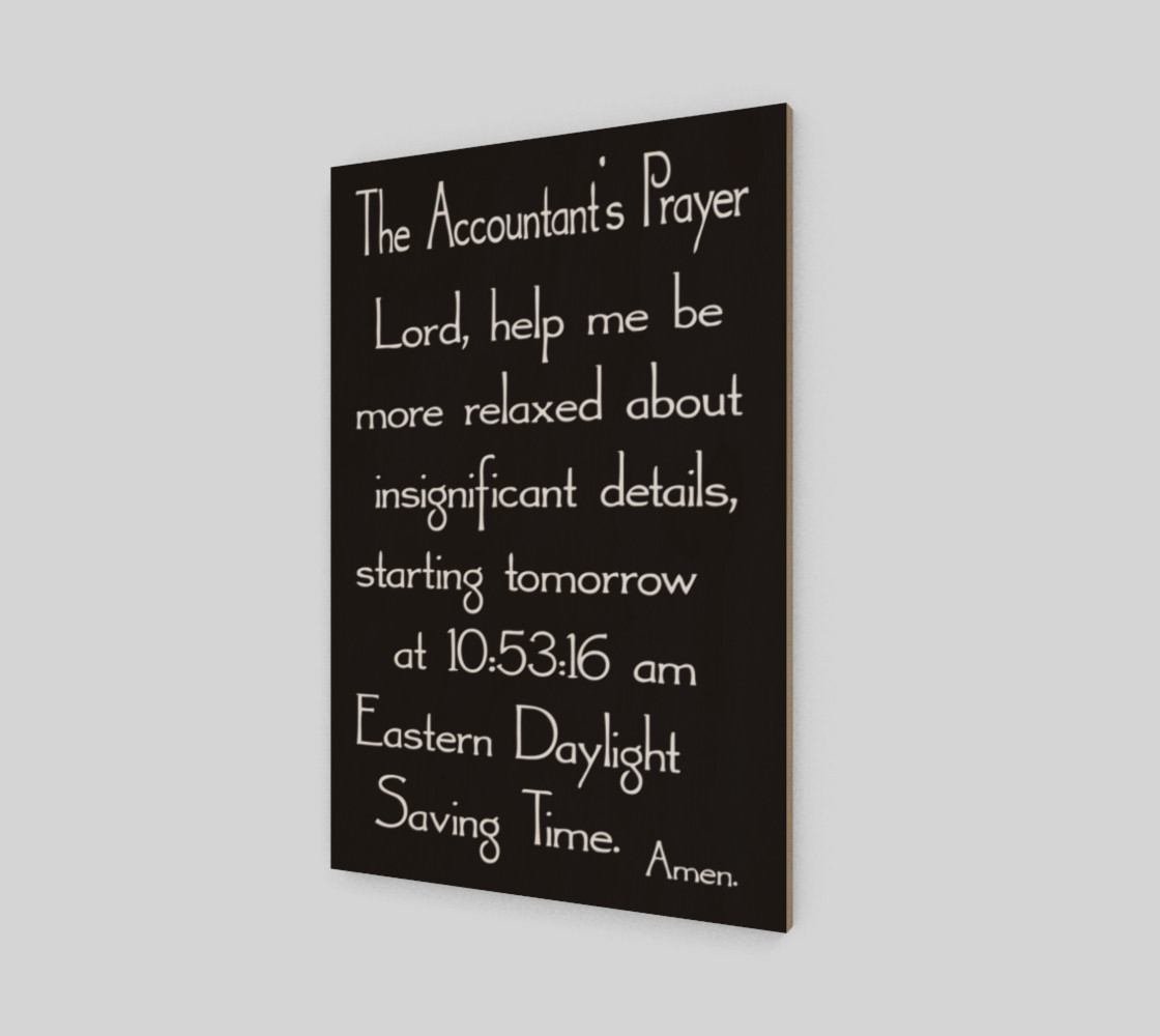 The Accountant's Prayer preview #2