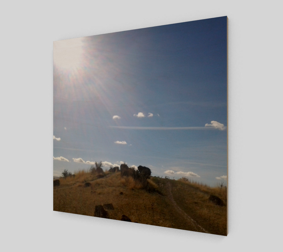 Boise Foothills Hand of God Wall Art preview #2