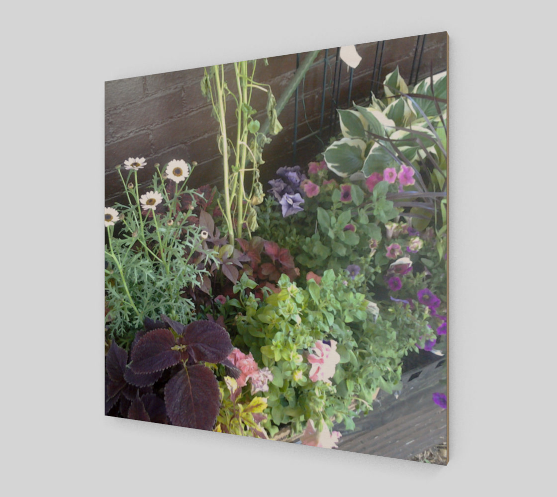 Flower Bed Wall Art preview #2