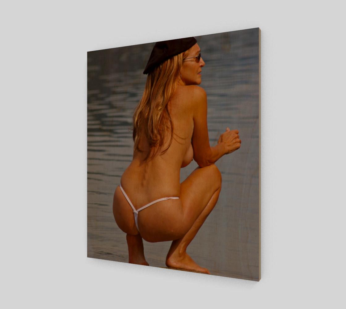 Topless Thong Bikini Beach Nude preview #1
