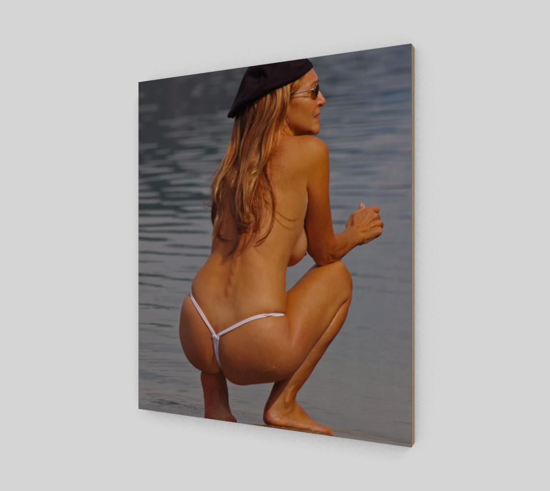 Topless Thong Bikini Beach Nude preview #2