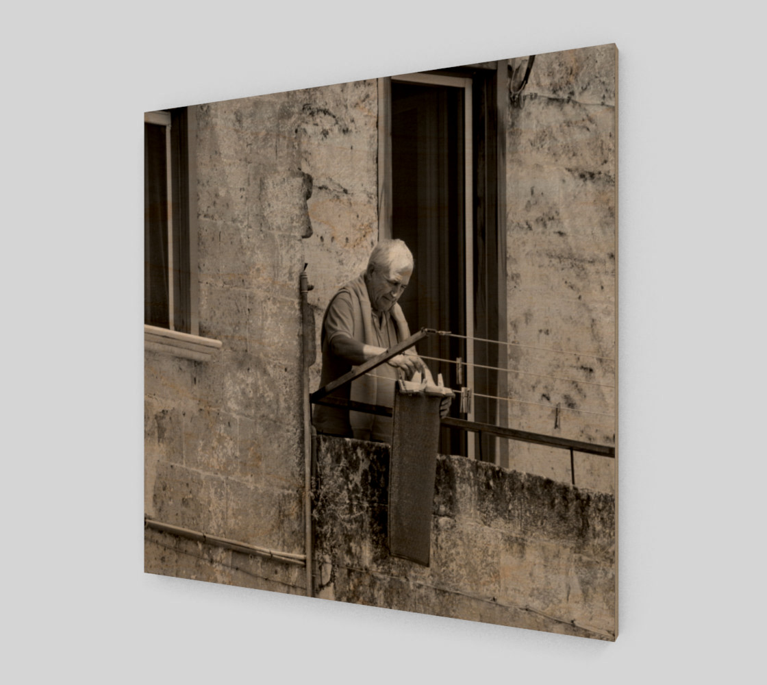 Utterly Italy Matera Man 24x24 preview #1