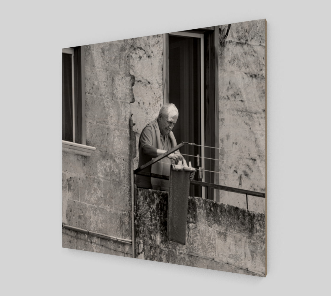 Utterly Italy Matera Man 24x24 preview #2