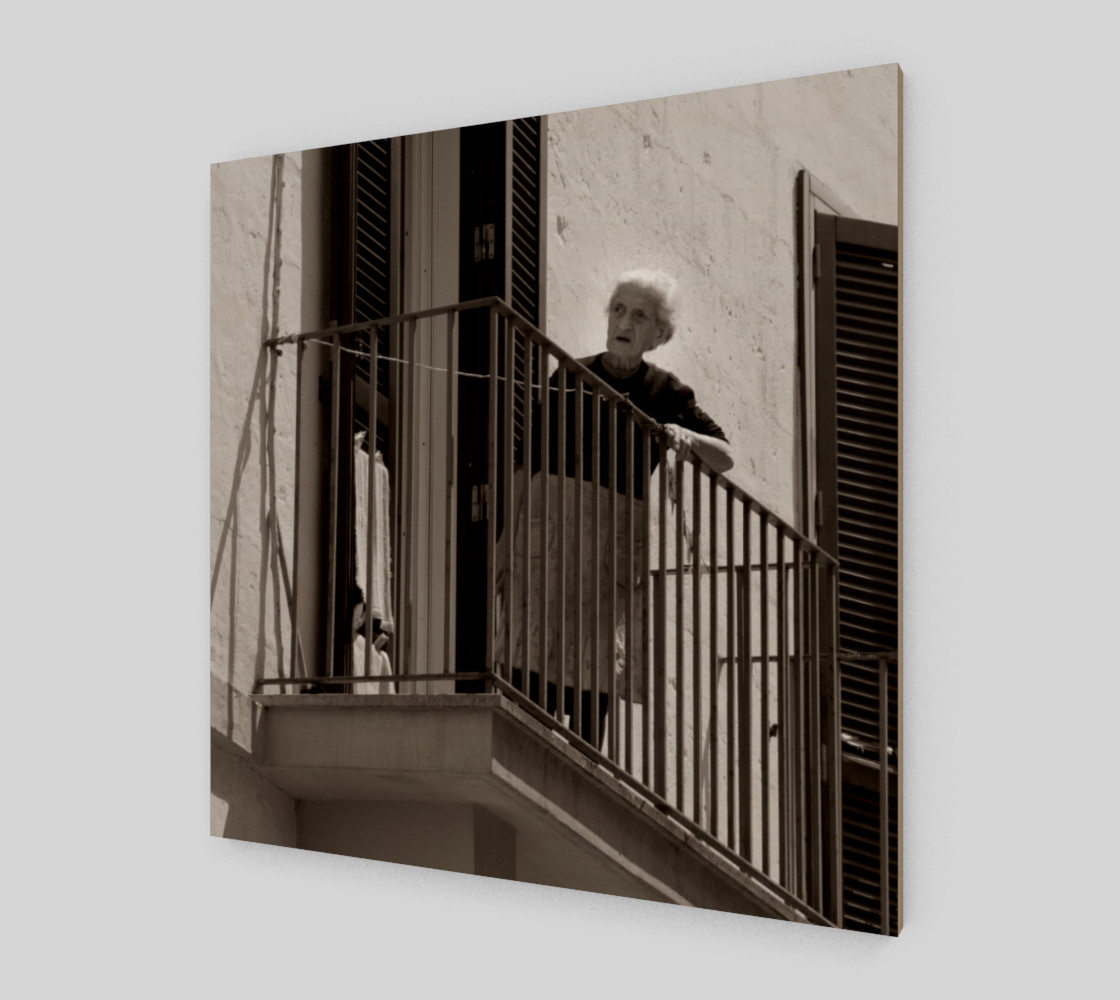Utterly Italy Matera Woman 24x24 preview #2