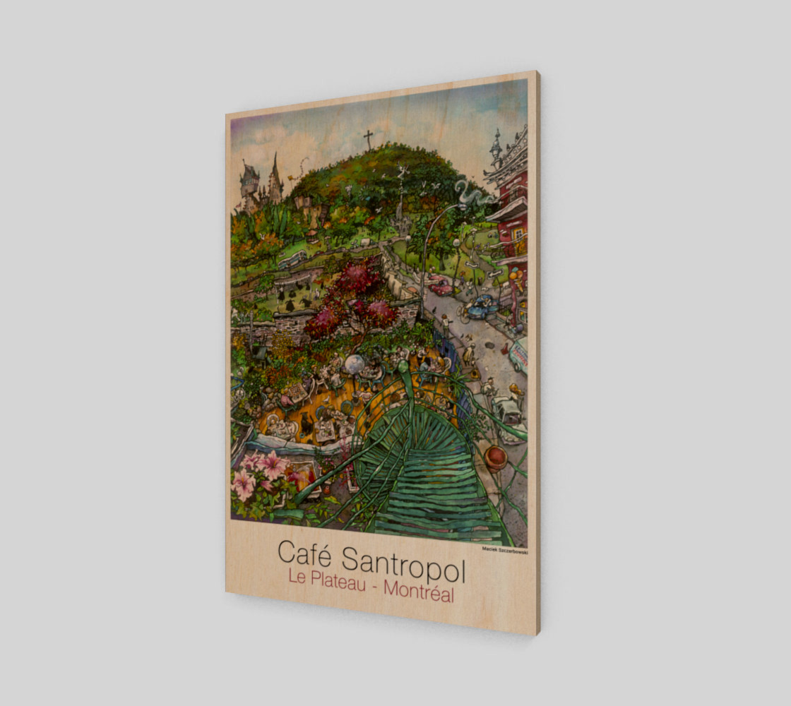 Cafe Santropol - Terrace & Mountain View preview #1