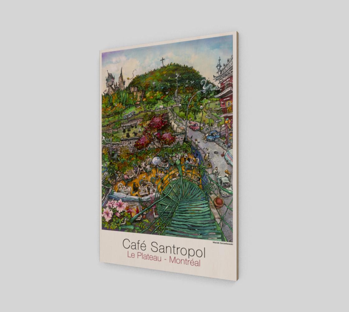 Cafe Santropol - Terrace & Mountain View preview #2