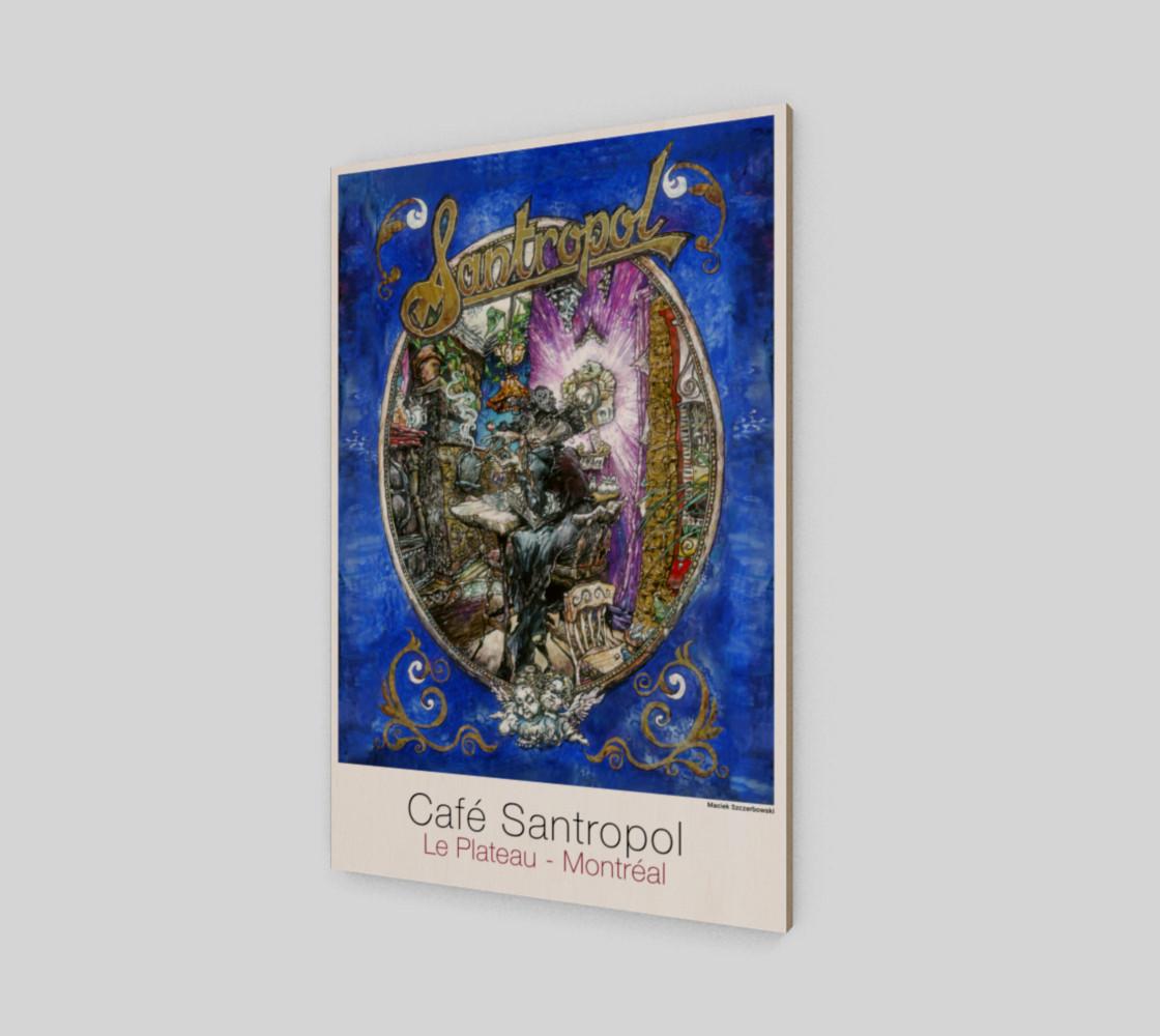 Cafe Santropol - Smoking Woman preview #2