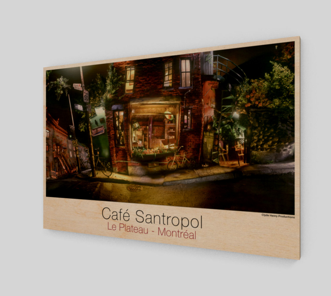 Cafe Santropol - Saint - Urbain & Duluth - Night View! preview #1