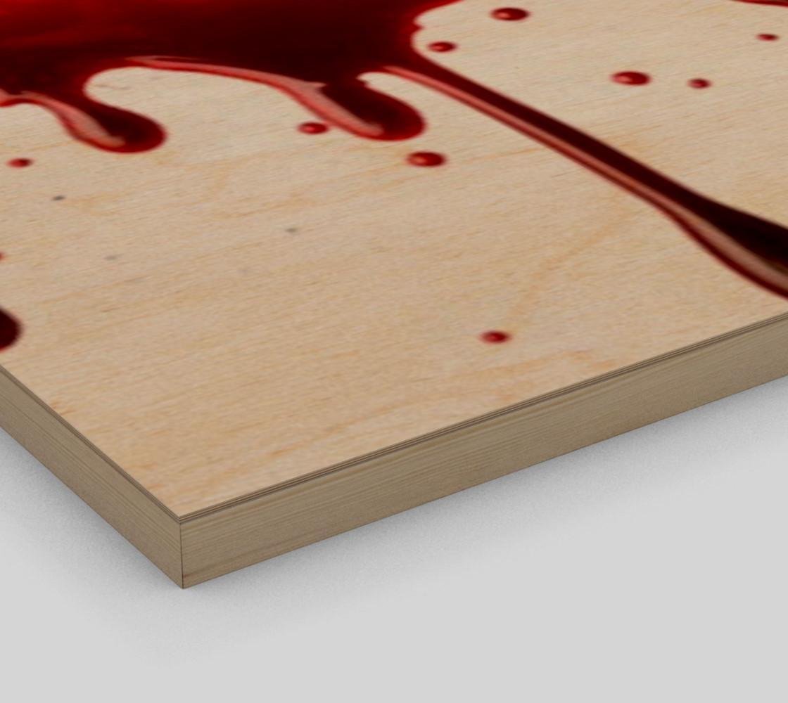 Blood Splatter three wall art preview #3
