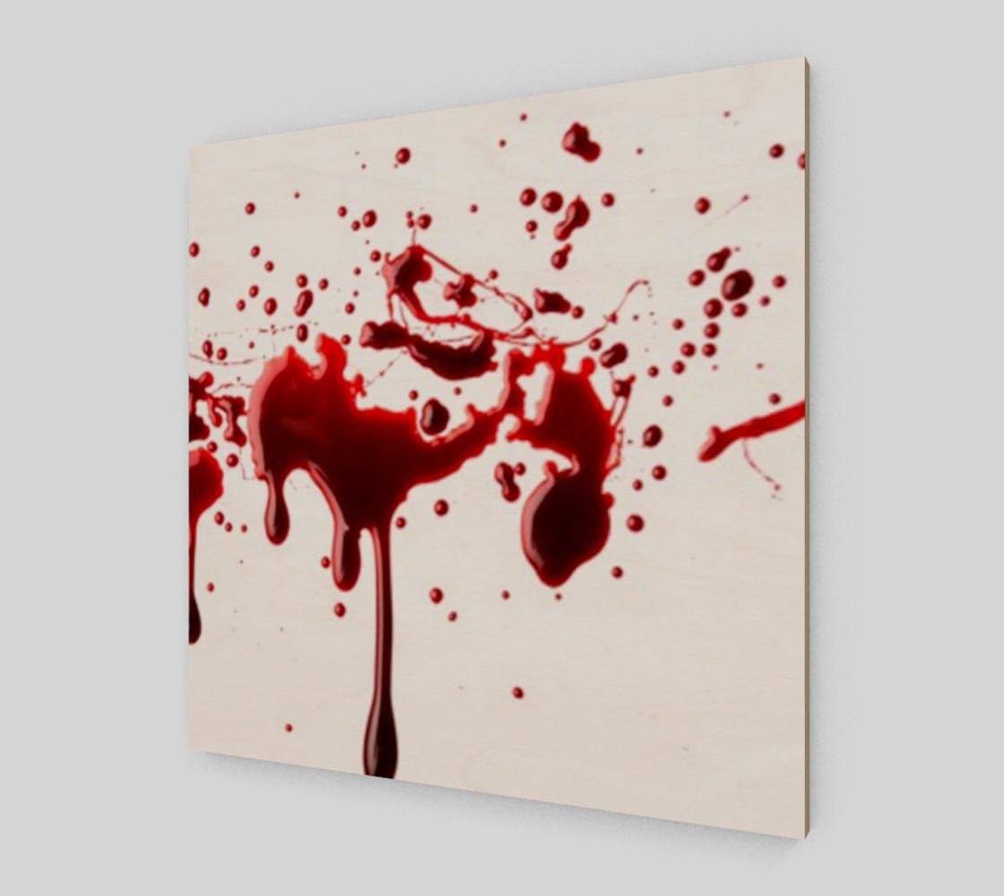 Blood Splatter three wall art preview #2