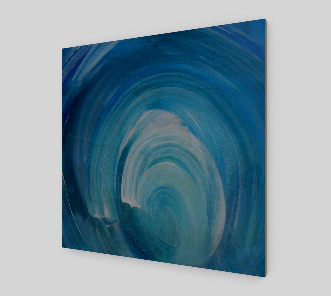WhirlWave Painting by Janet Gervers preview #1