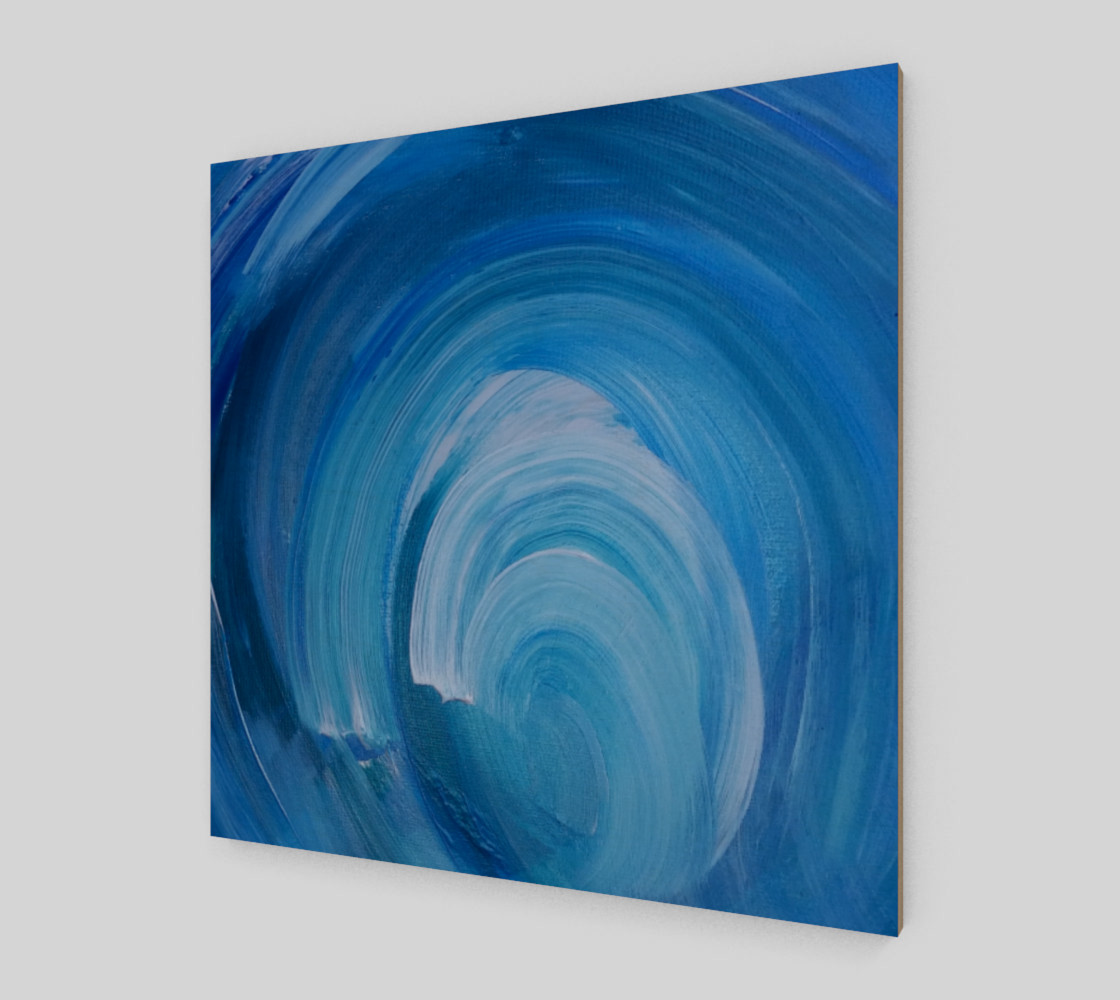 WhirlWave Painting by Janet Gervers preview #2