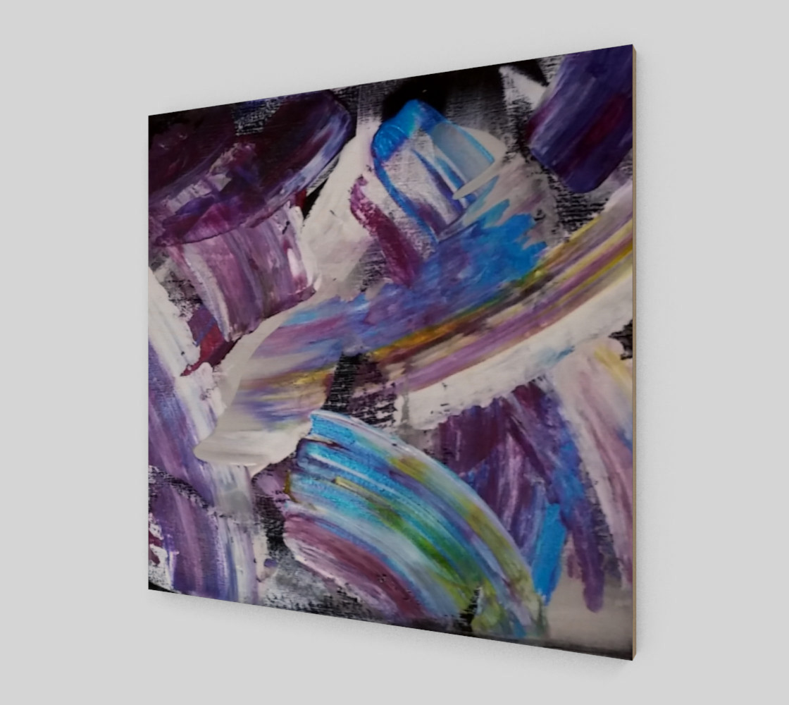 Energy Shift Abstract Painting by Janet Gervers preview #2