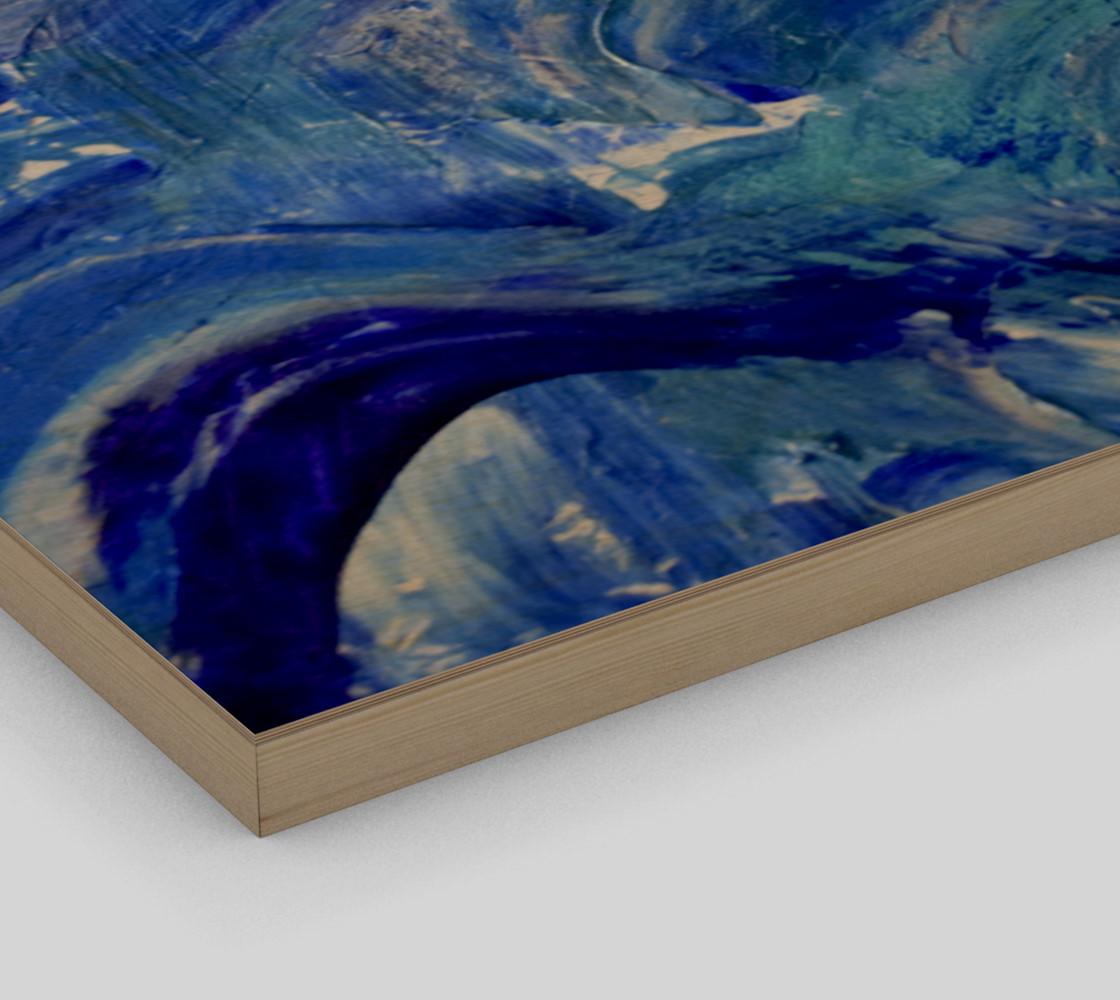 Aperçu de Shimmer Waves - Abstract Art by Janet Gervers 2018 #3