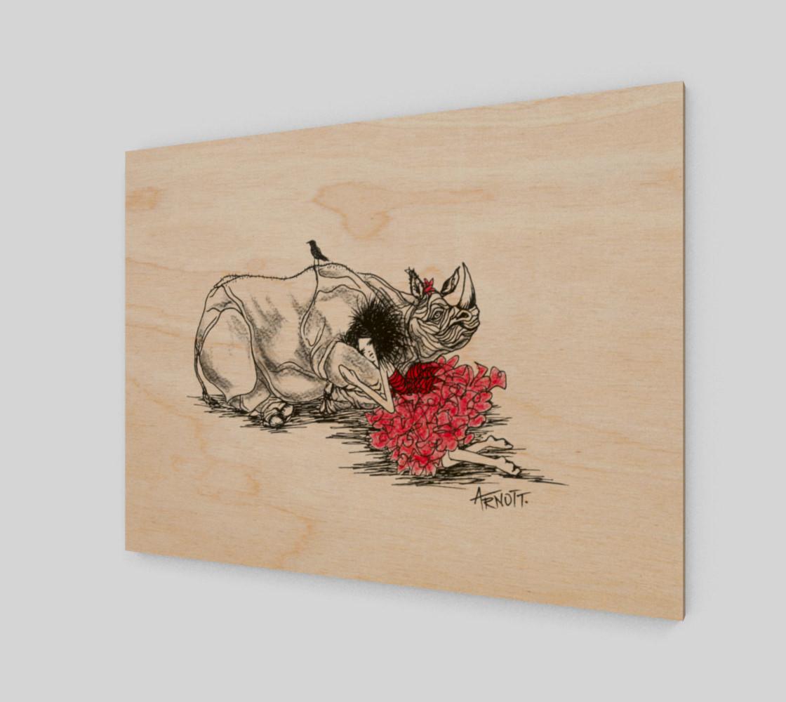 Aperçu de Red Rhino print #1