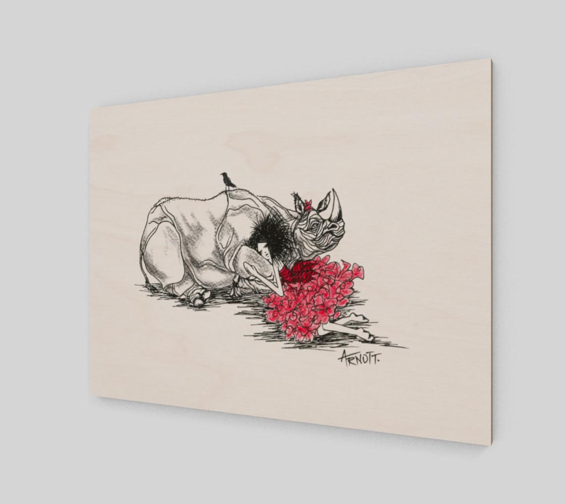 Aperçu de Red Rhino print #2