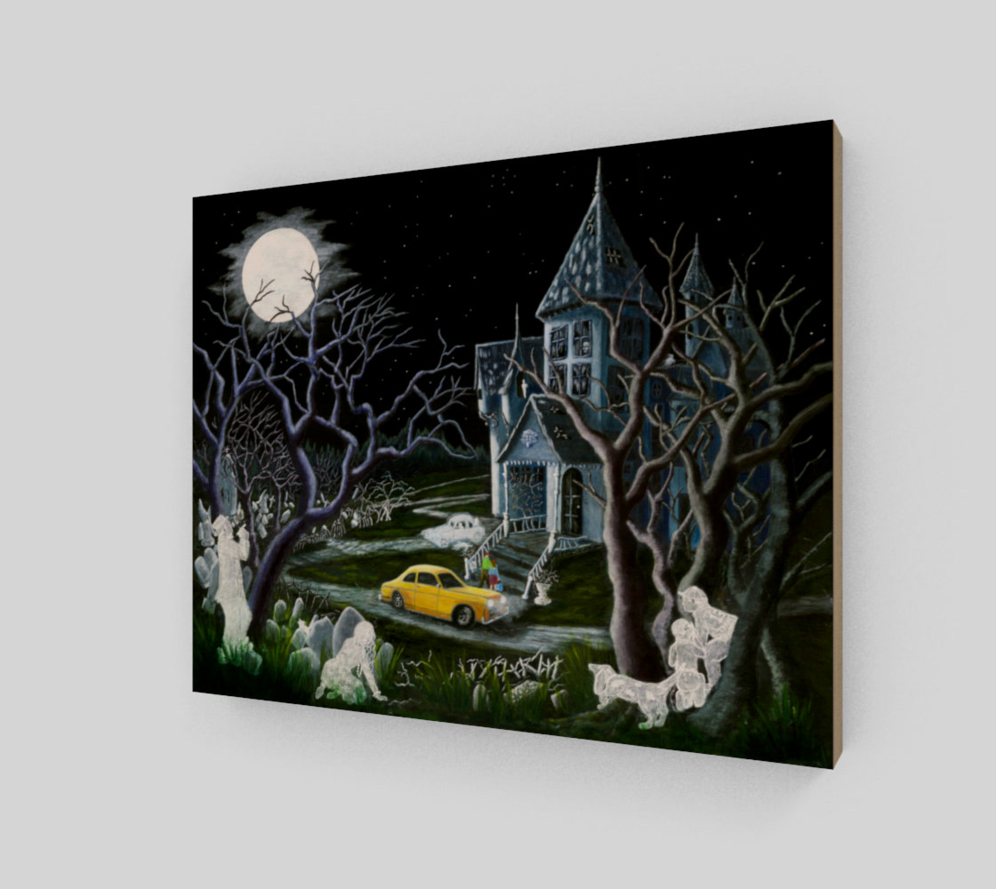 8 x 10 Haunted Inheritance wrapped canvas preview #2