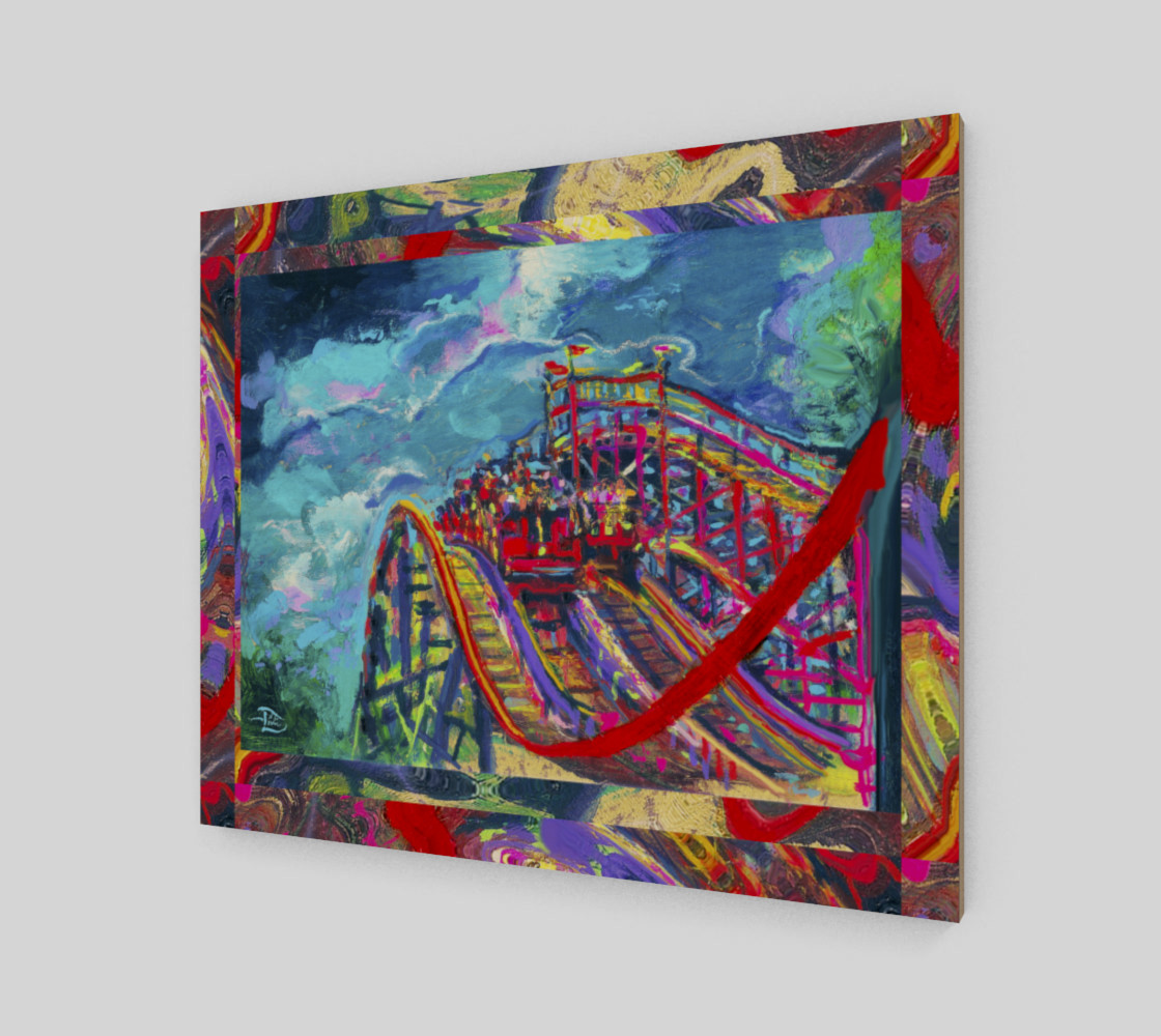 Roller Coaster Circus Fashion-Match / Virtual-Frame-in-Print preview #2