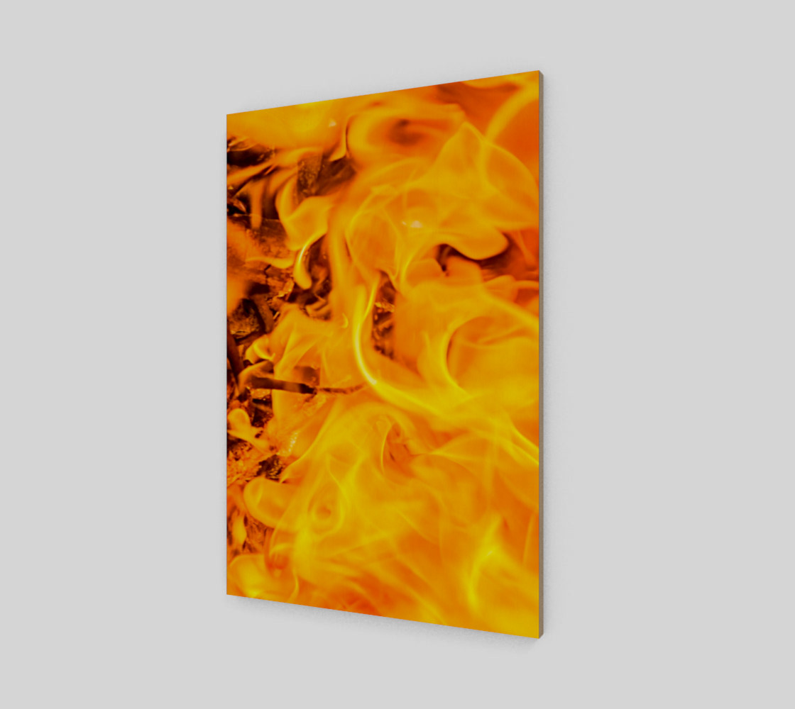 Five Elements Set - Fire Wall Art Poster 4 preview #2