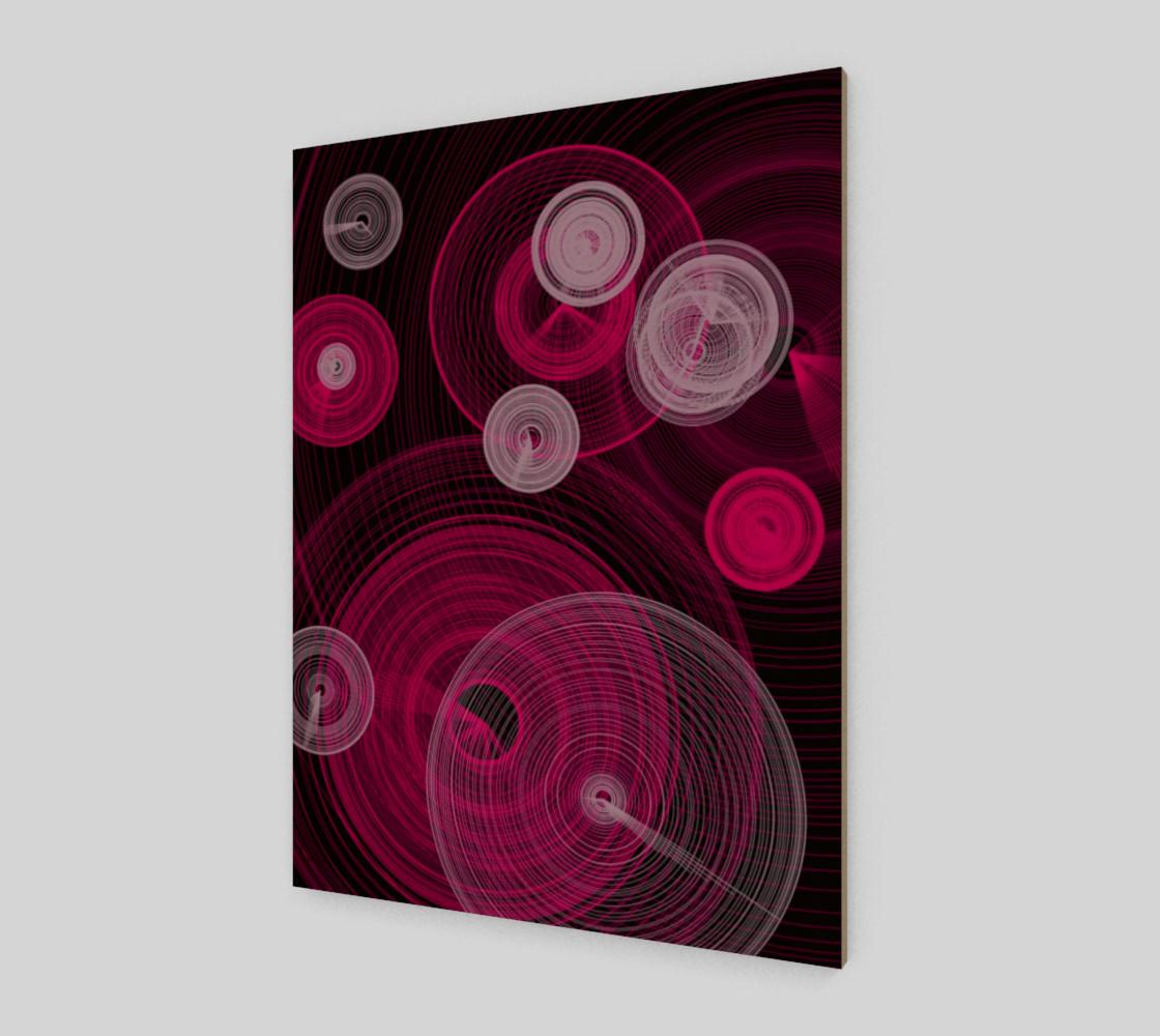 "Circles Wall Art 7.5"" x 10"" preview #2"