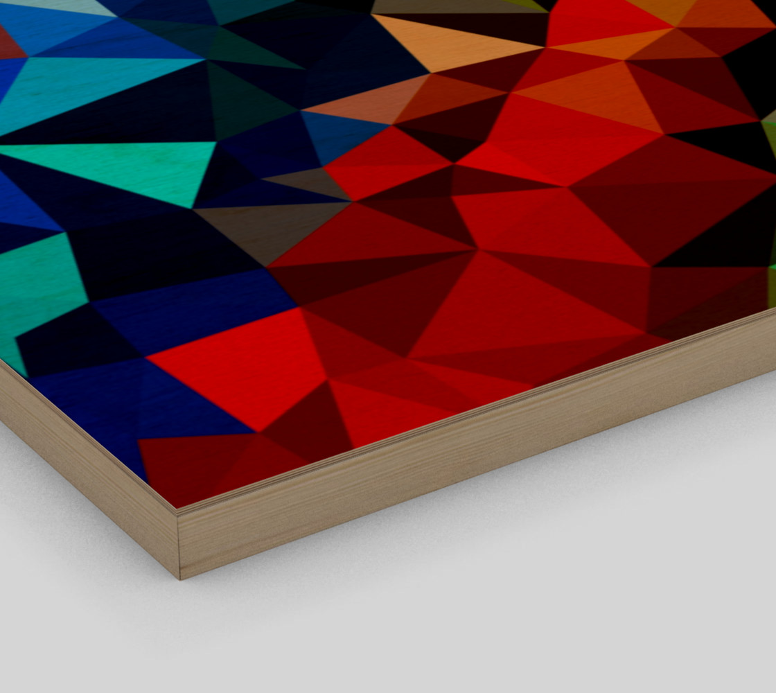 Multi-color abstract geometric preview #3