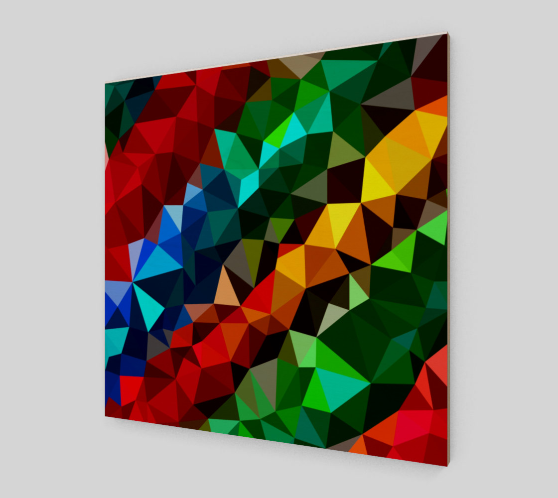 Multi-color abstract geometric preview #2