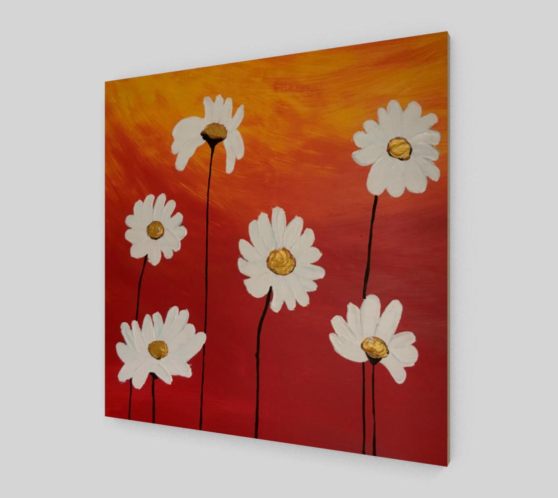 Daisy Sunset Art Print preview #2