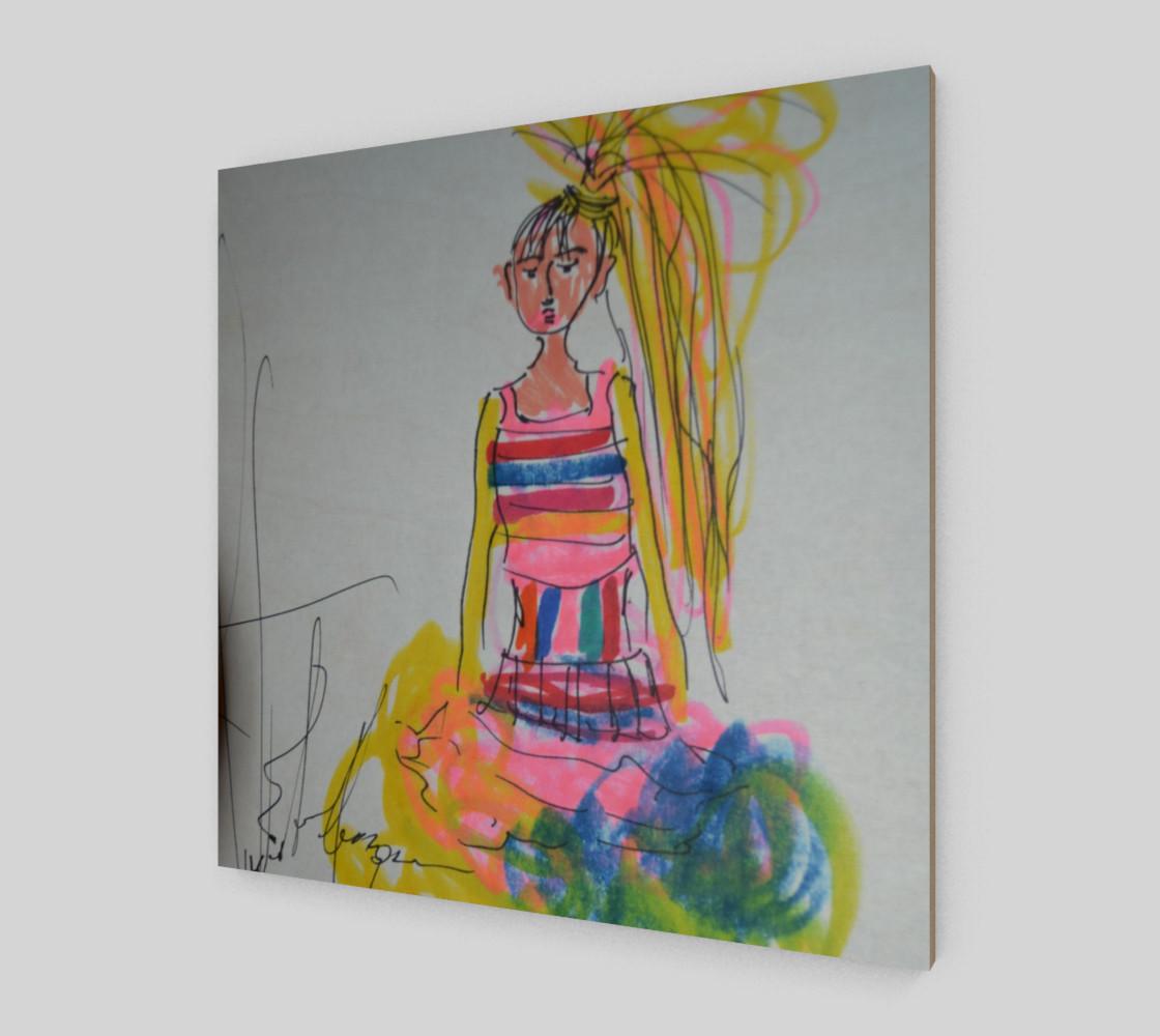 Aperçu de Stylish Girl Color #2