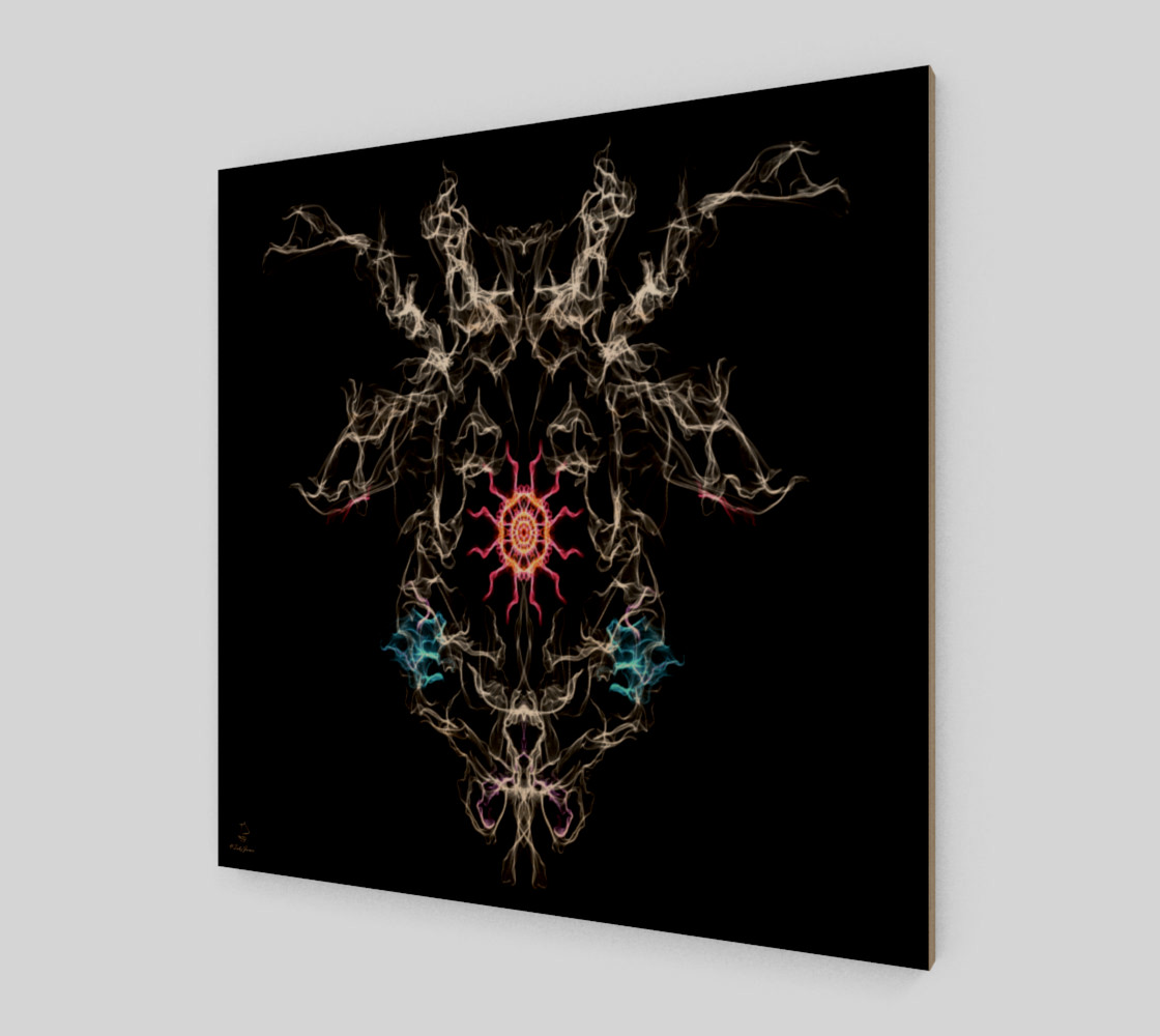 Mark of the Beast modern art by Tabz Jones preview #1