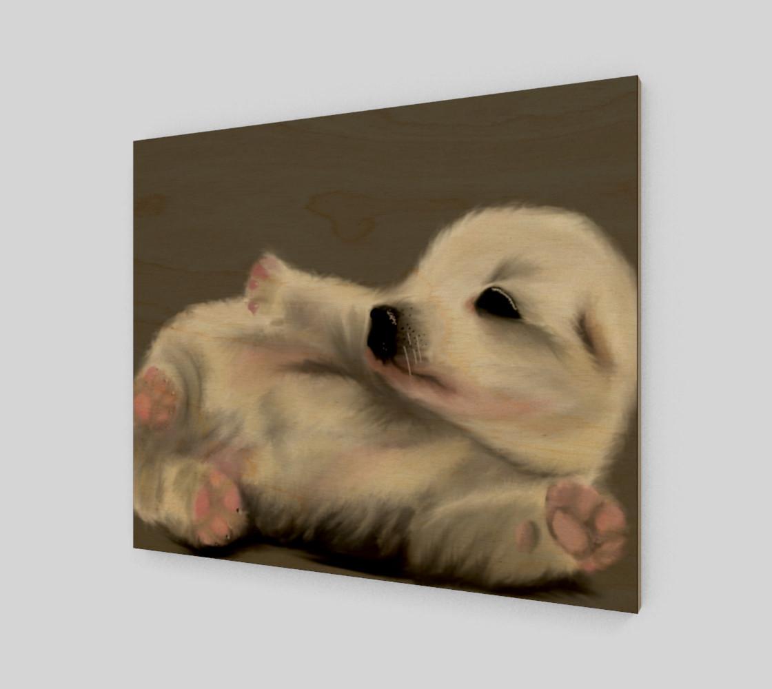 "Aperçu de Adorable Puppy Wall Art 24"" x 20"" #1"