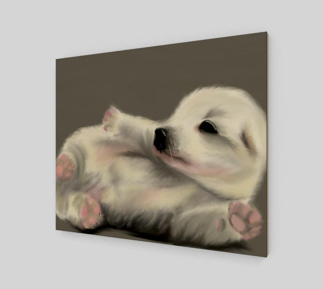 "Aperçu de Adorable Puppy Wall Art 24"" x 20"" #2"