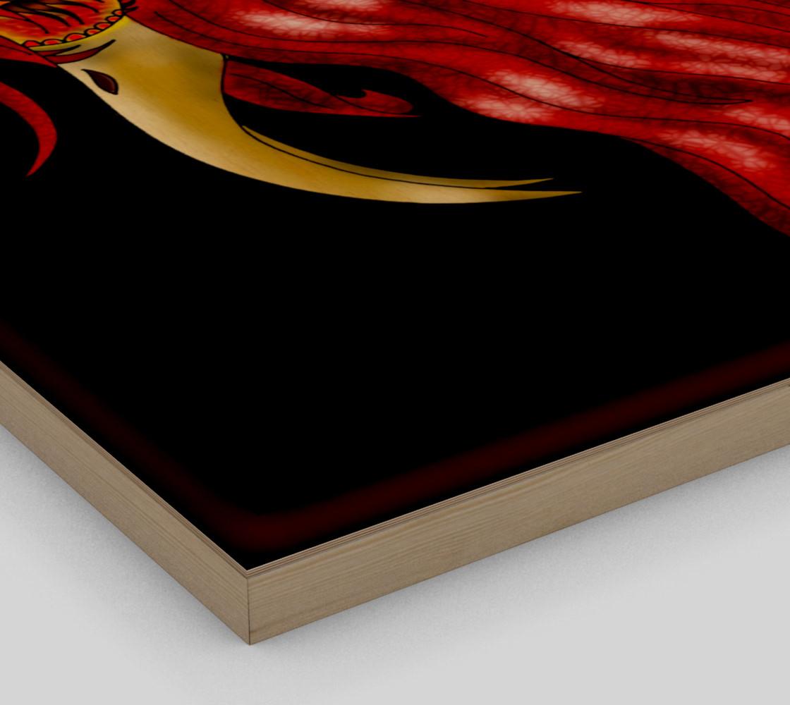Aperçu de Red Heron Fantasy Art by Tabz Jones #3
