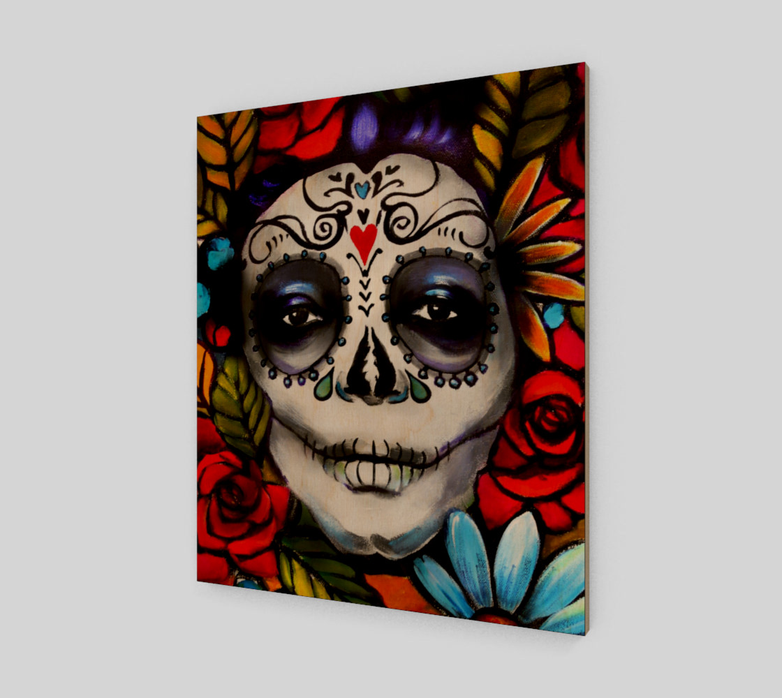"""Day of the Dead 20"""" x 24"""" preview #1"""