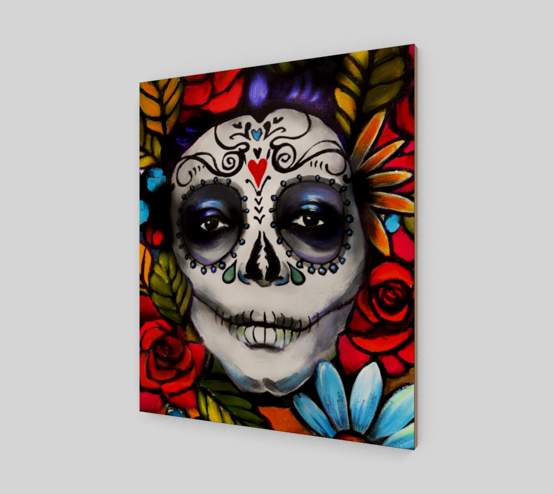 """Day of the Dead 20"""" x 24"""" preview #2"""